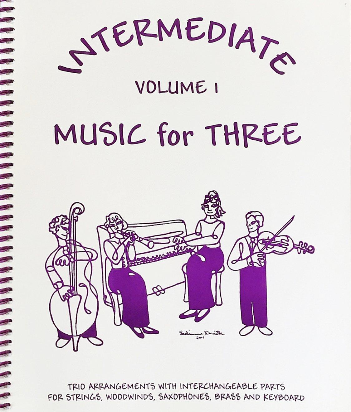 Intermediate Music for Three Vol 1 Pt 3 Cello - Trio - Kelley - Last Resort
