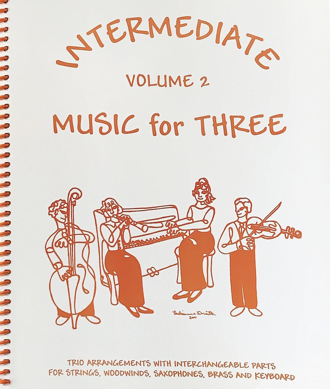 Intermediate Music for Three Vol 2 Pt 1 Violin - Trio - Kelley - Last Resort