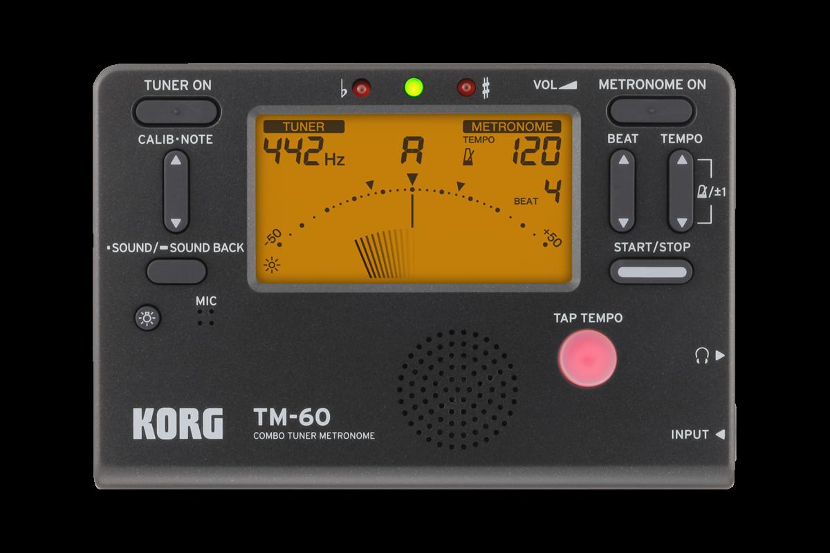 Korg TM60 - Tuner Metronome Combo
