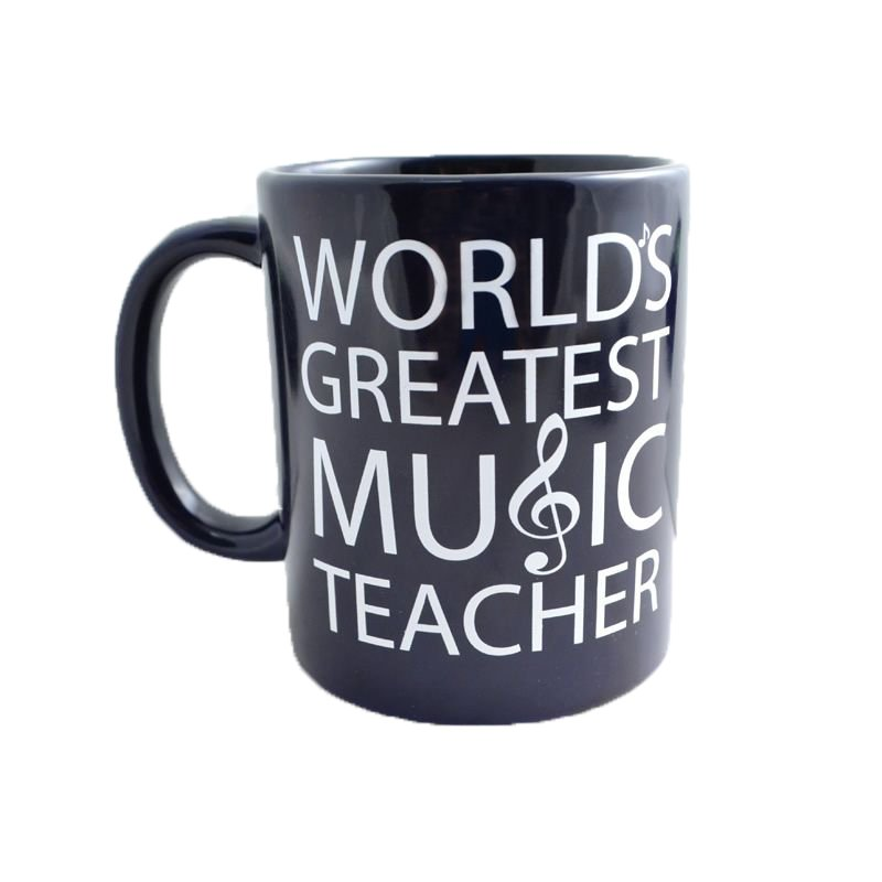 World's Greatest Music Teacher Mug