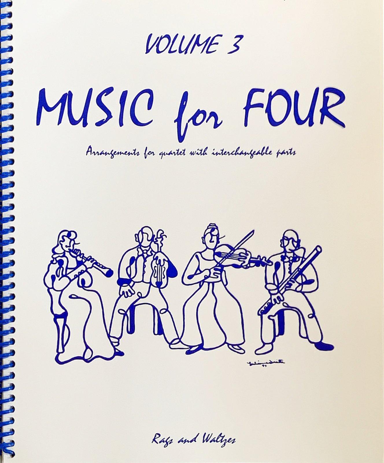 Music for Four Vol 3 Pt 2 - Violin - Kelley - Last Resort