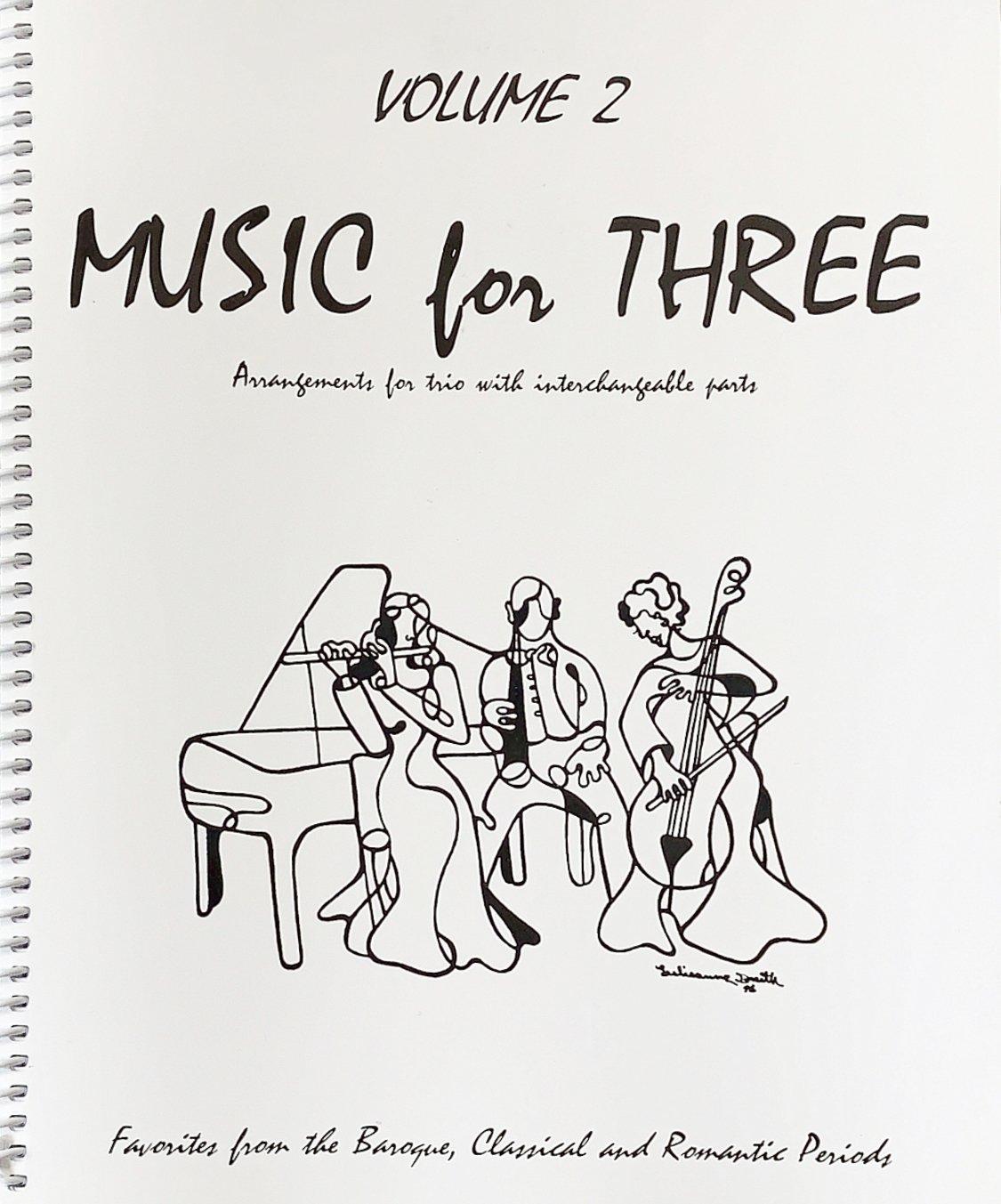 Music for Three Vol 2 Pt 1 Violin - Trio - Kelley - Last Resort
