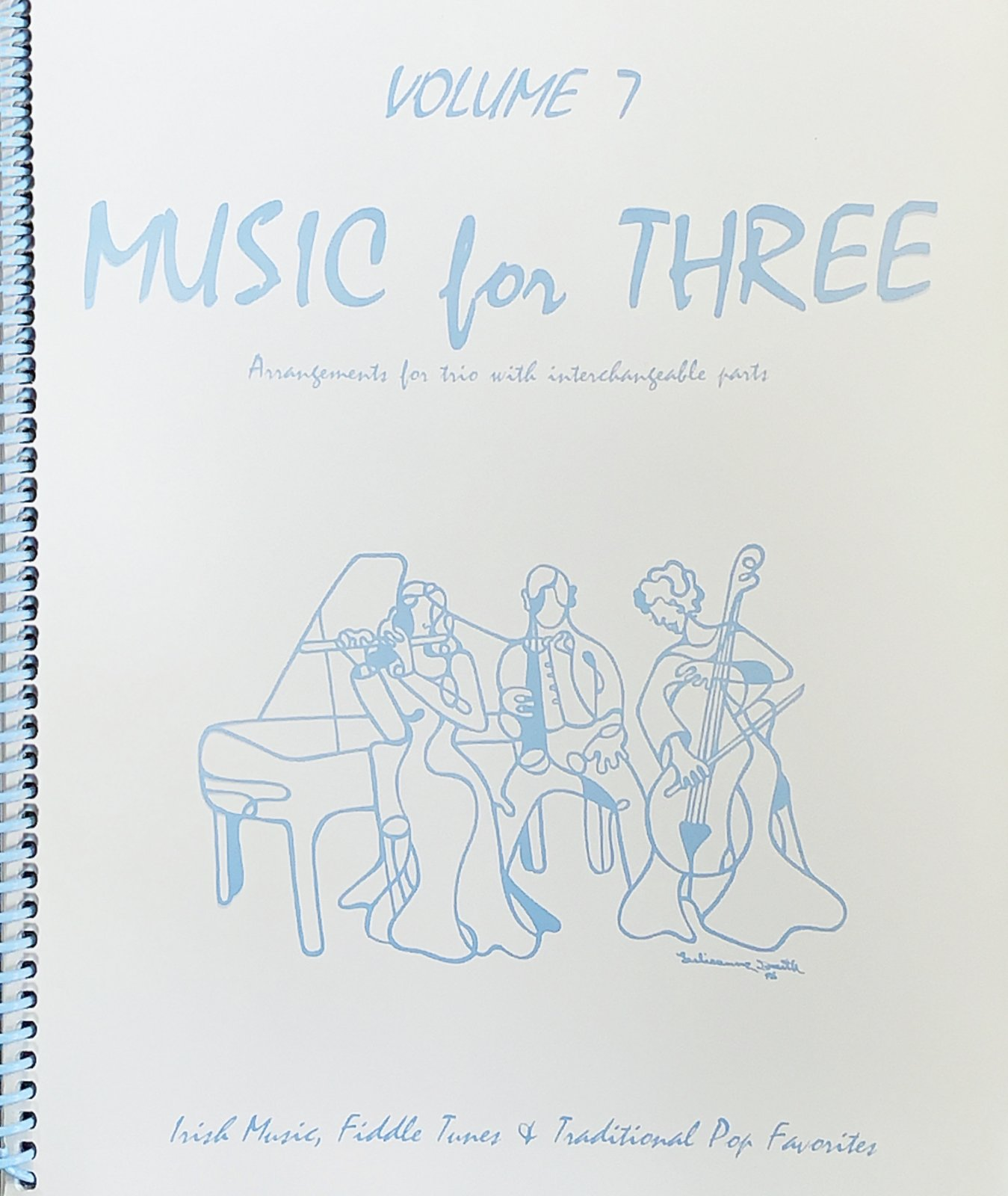 Music for Three Vol 7 Pt 2 - Viola - Kelley - Last Resort