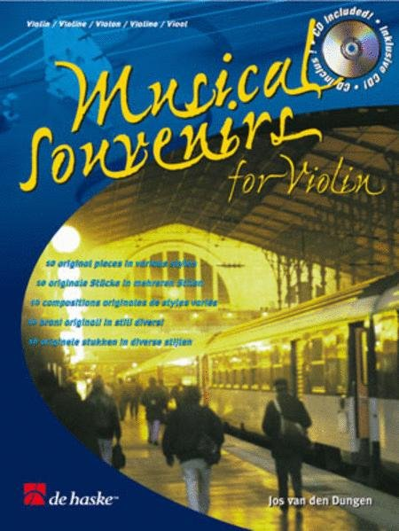 Musical Souvenir for Violin - CD included