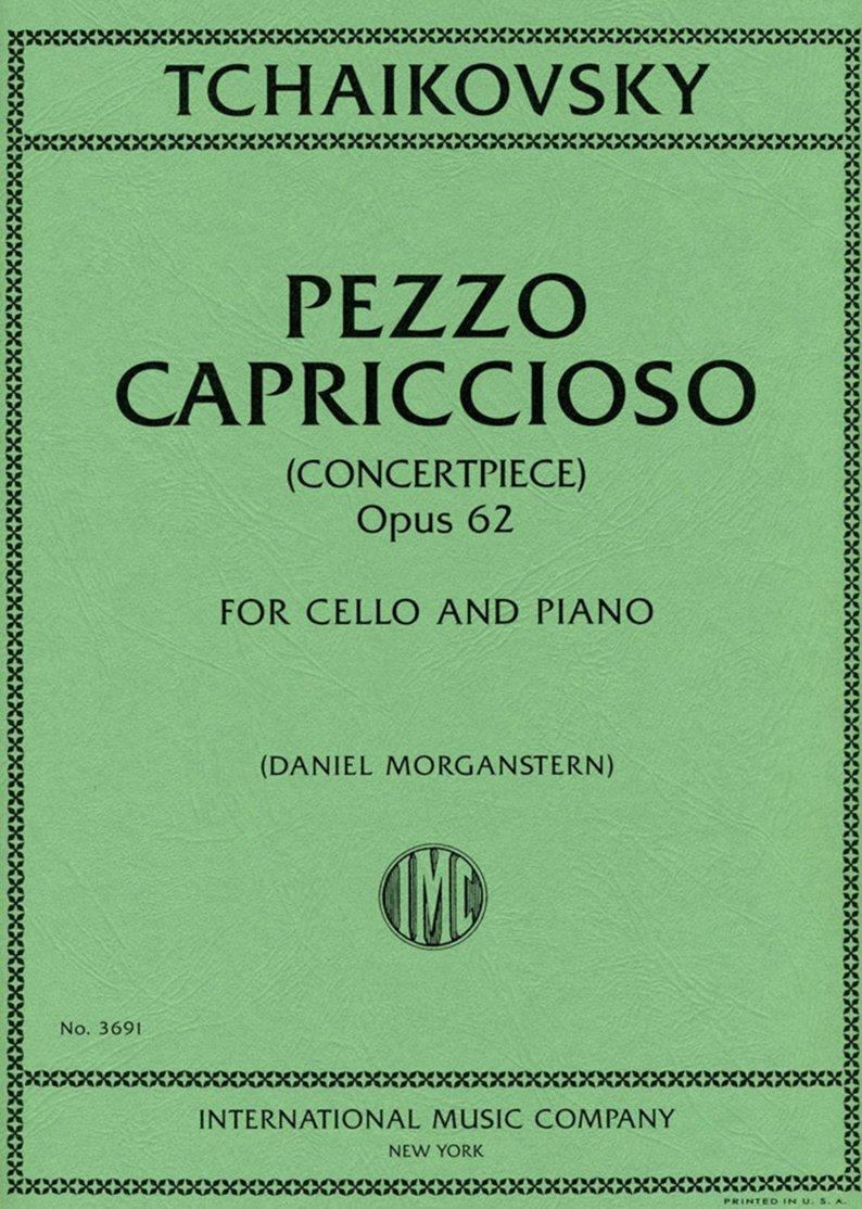Pezzo Capriccioso Op 62 - Tchaikovsky - Cello and Piano - Morganstern - International