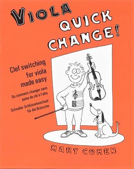 Quick Change - Cohen - Viola - Faber Music