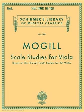 Scale Studies for Viola vol.1860 - Mogill - Viola -  G.Schirmer
