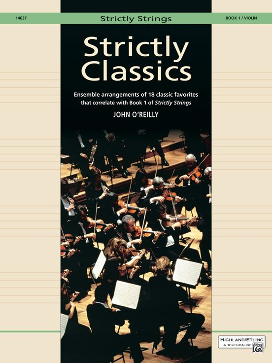 Strictly Classics Bk 1 - O'Reilly - Violin - Alfred