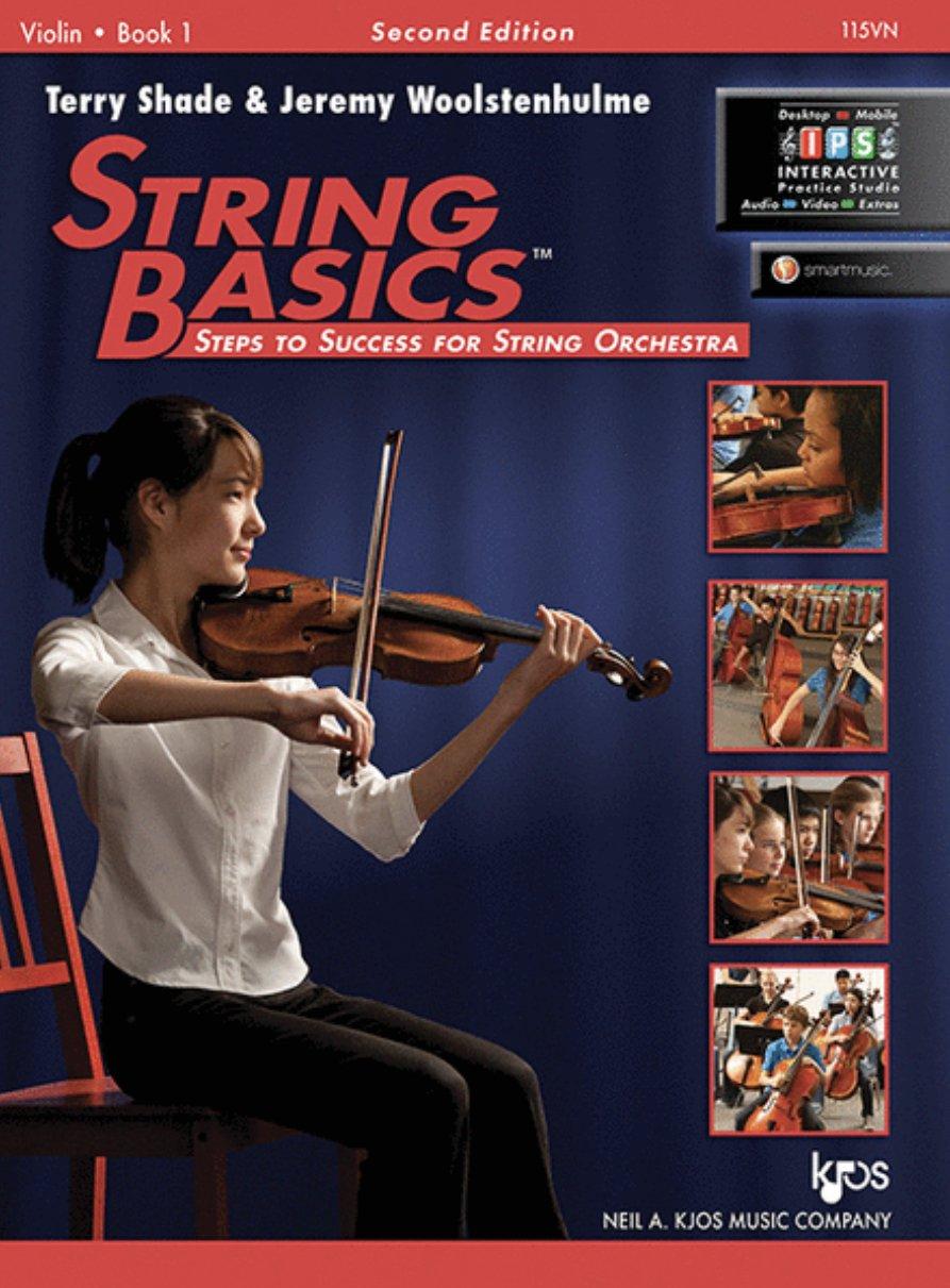 String Basics Bk 1 - Shade - Violin - Kjos