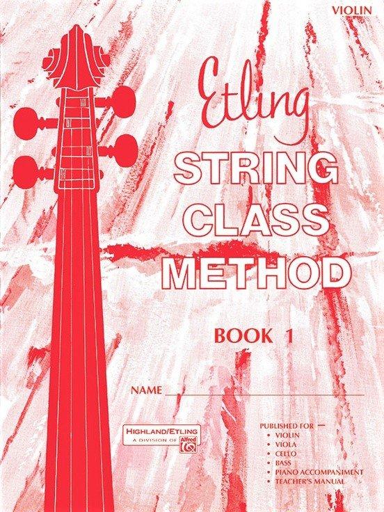 String Class Method Book 1 - Etling - Violin - Alfred
