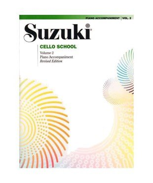Suzuki Cello School Piano Accomp Vol 2 - Summy-Birchard