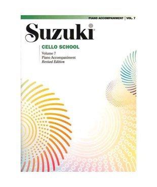 Suzuki Cello School Piano Accomp Vol 7 - Summy-Birchard