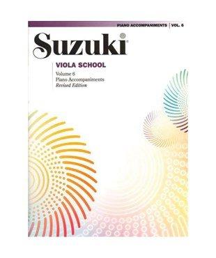Suzuki Viola School Piano Accomp Vol 6 - Summy-Birchard