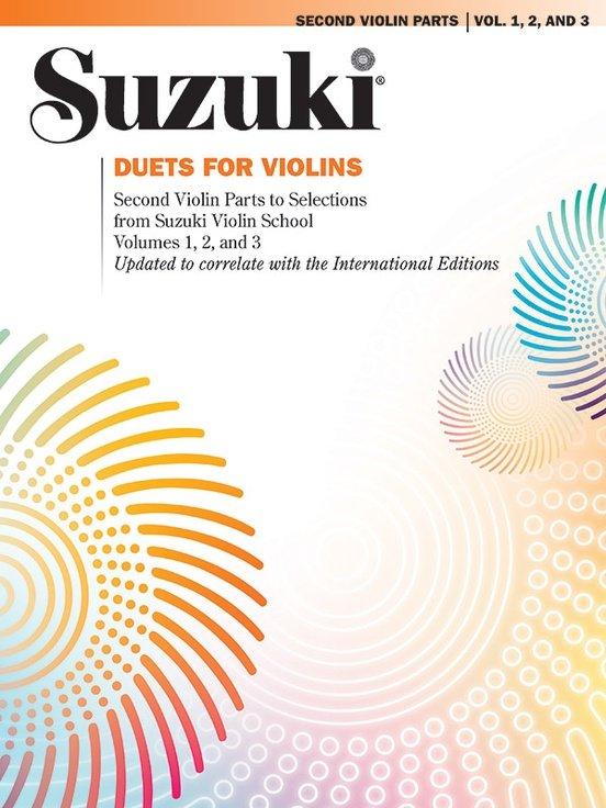 Suzuki Violin School Duets Vol 1-3 - Violin Violin - Summy-Birchard