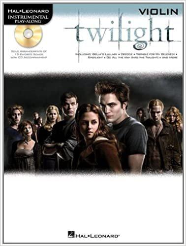 Twilight Instrumental Play-Along for Violin.