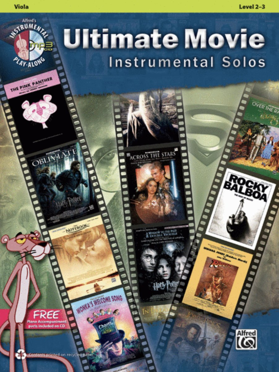 Ultimate Movie Instrumental Solos for Strings CD - Various Composers - Viola - Alfred