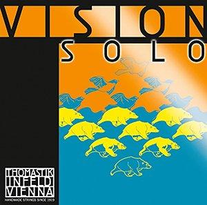 Vision Solo Violin E 4/4 (Brown Stripe)
