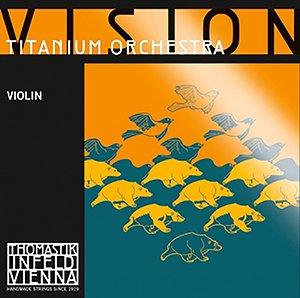 Vision Titan. Orch. Violin E 4/4 Titan. Design (Blue Green Stripe)