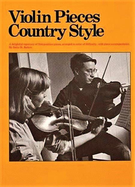 Violin Pieces Country Style - Violin - Barlow - Amsco