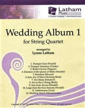 The Wedding Album 1 for String Quartet - Various - Quartet - Latham