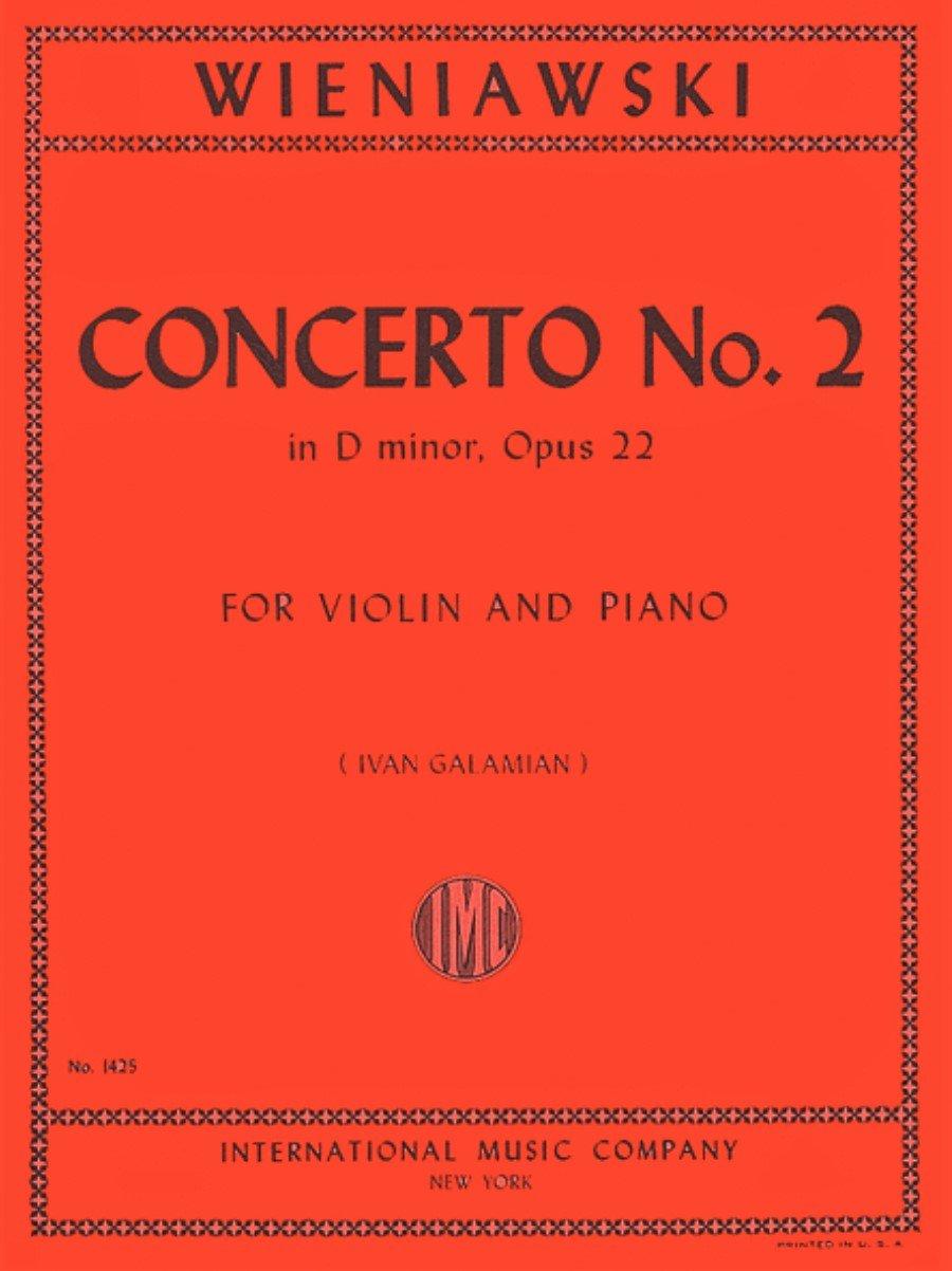 Concerto # 2 in D Minor Op 22 - Wieniawski - Violin - International