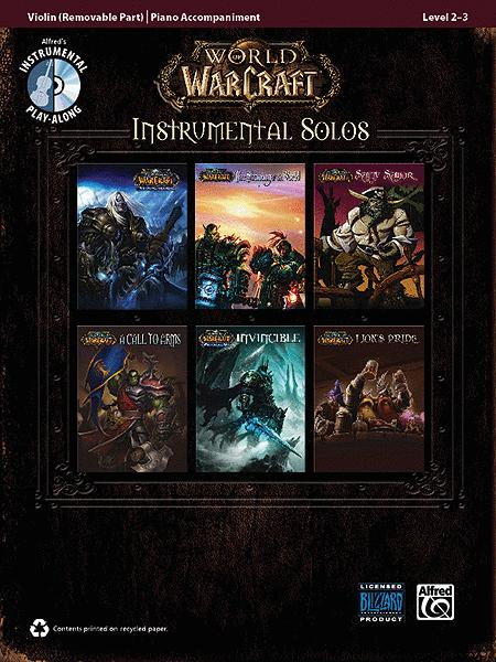 World of Warcraft Instrumental Solos for Strings - Violin