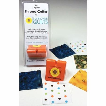 Thread Cutter Orange Sunflower Quilts