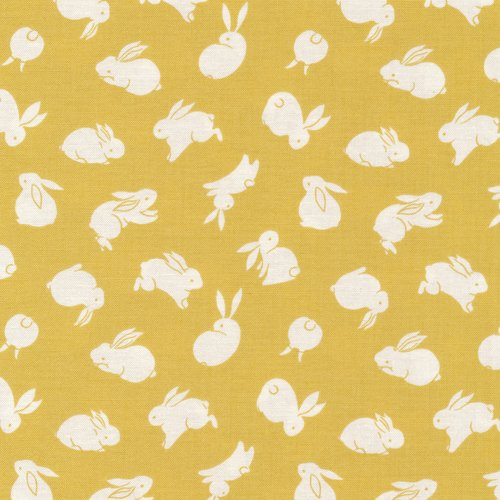 Moon Rabbit 120-14914 Yellow Rabbits