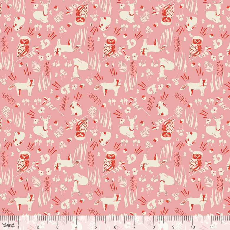 enchanted - Forest Friends Pink