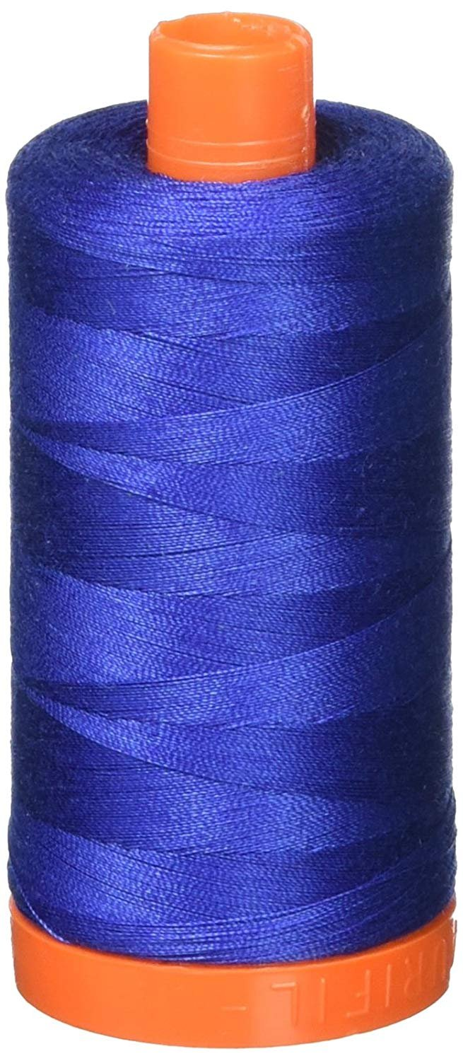 2250 Cobalt - Aurifil 50 WT 100% Cotton Mako Large Spool Thread
