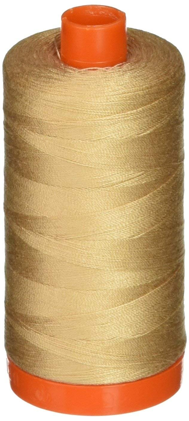 2314 Beige - Aurifil 50 WT 100% Cotton Mako Large Spool Thread