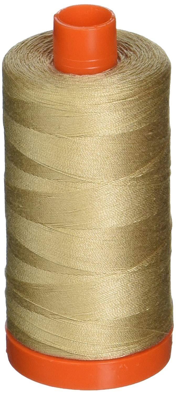 2326 Sand - Aurifil 50 WT 100% Cotton Mako Large Spool Thread