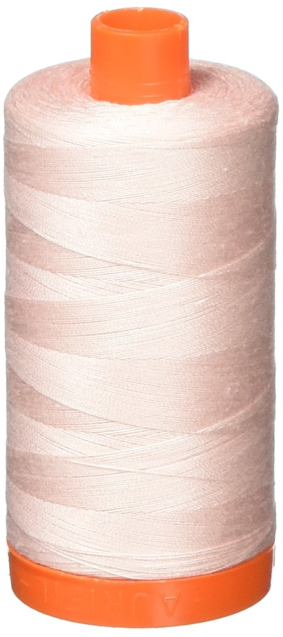 2410 Pale Pink - Aurifil 50 WT 100% Cotton Mako Large Spool Thread