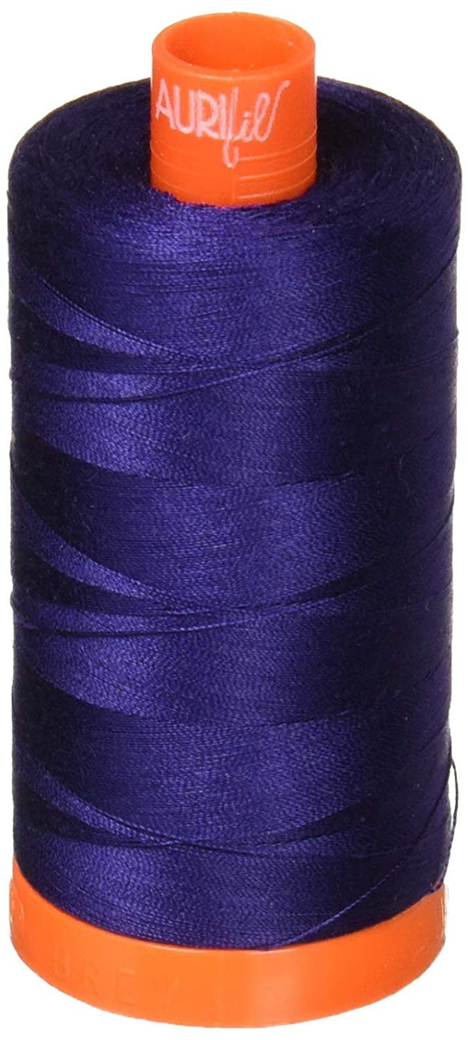 2745 Midnight Blue - Aurifil 50 WT 100% Cotton Mako Large Spool Thread