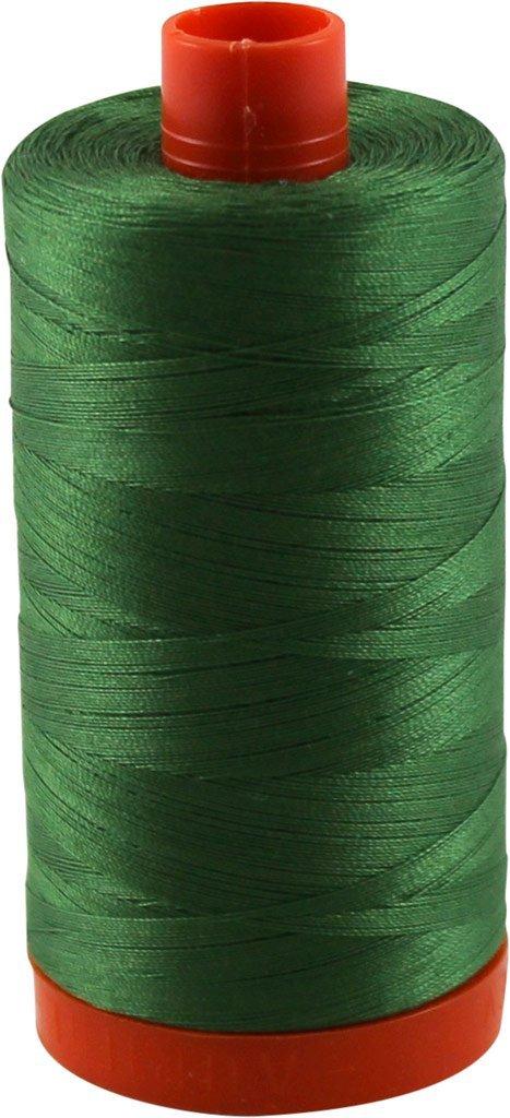 2890 Dark Grass Green - Aurifil 50 WT 100% Cotton Mako Large Spool Thread