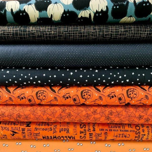 Boo Bundle Sew Along - Option C -  8 FE Bundle