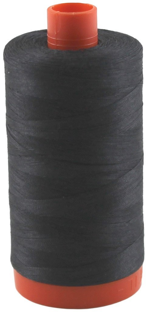 4241 Very Dark Grey - Aurifil 50 WT 100% Cotton Mako Large Spool Thread
