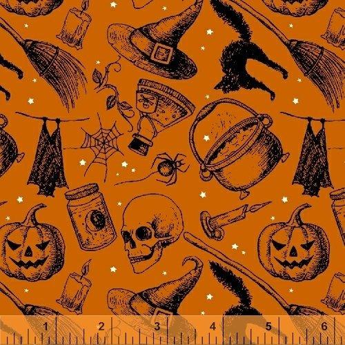 Eat Drink Witches Brew Orange