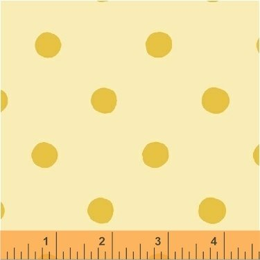 SugarPlum by Heather Ross Yellow Spot