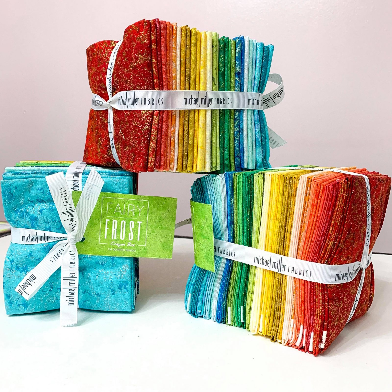 Fairy Frost: Crayon Box Fat Quarter Bundle - 29 Pcs