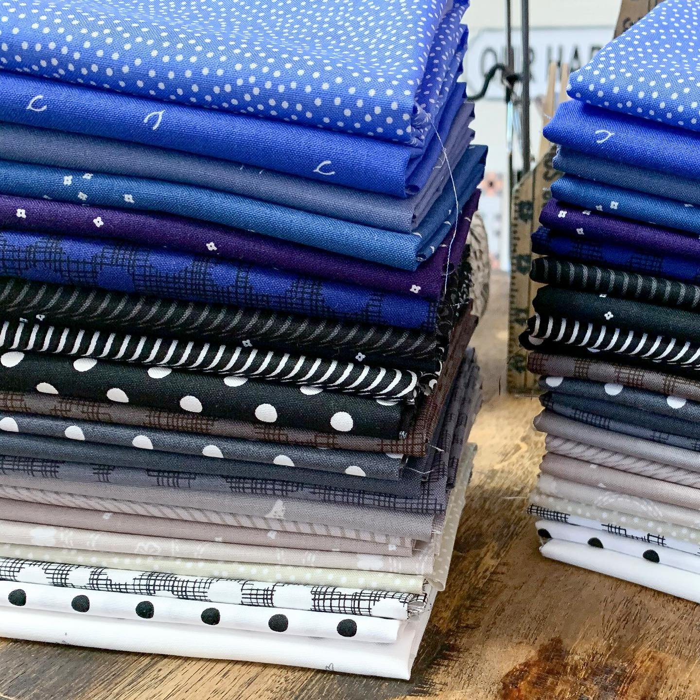 Dreamy Blues FQ Bundle (22pc)