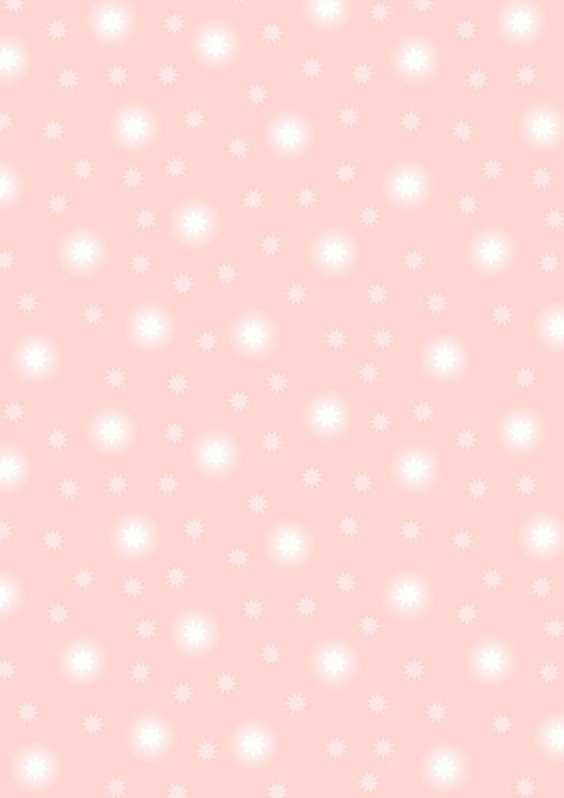 Pale Pink Starry Sky
