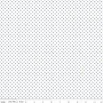 Swiss Dot Reversed Denim