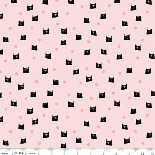Meow and Forever Dots Pink