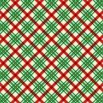 Vintage Holidays Holiday Plaid-Green