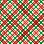 Vintage Holidays Holiday Plaid-Red