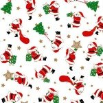 Vintage Holidays Santa's Workshop-White