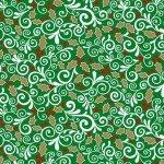 Vintage Holidays Bric A Brac-Green
