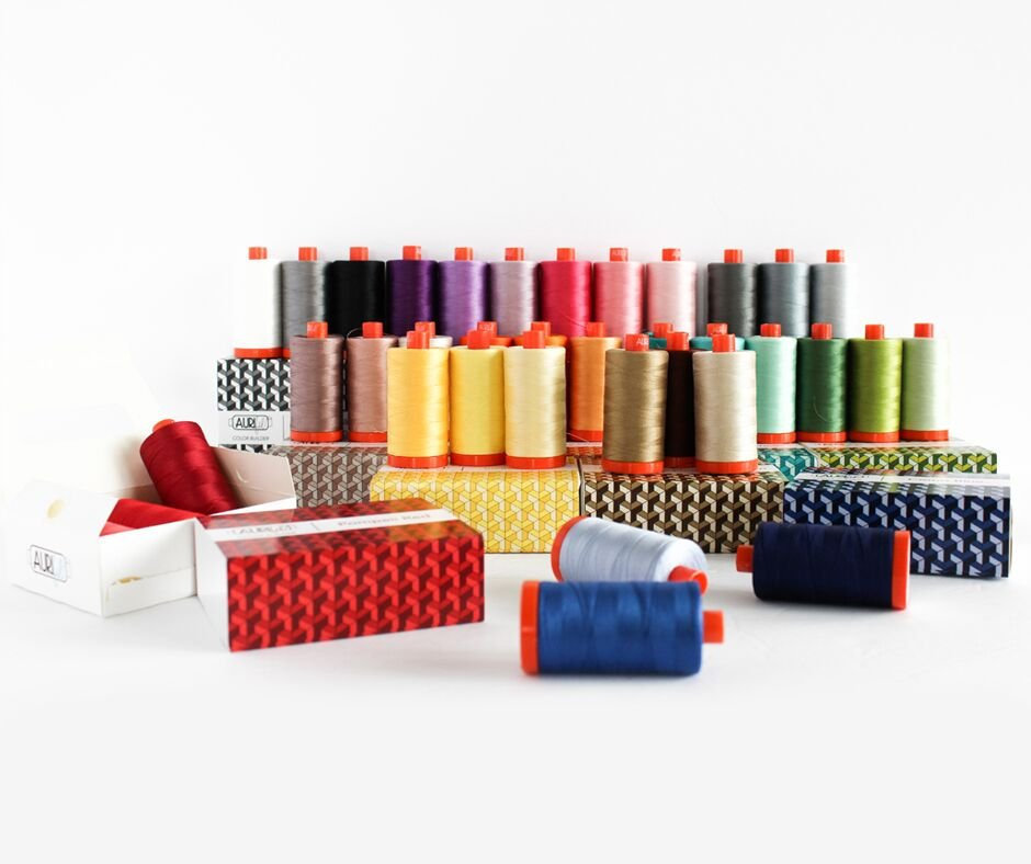 Aurifil Thread Club - 12 Month Color Builder Subscription