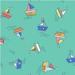Make A Splash Rowboats-Turquoise
